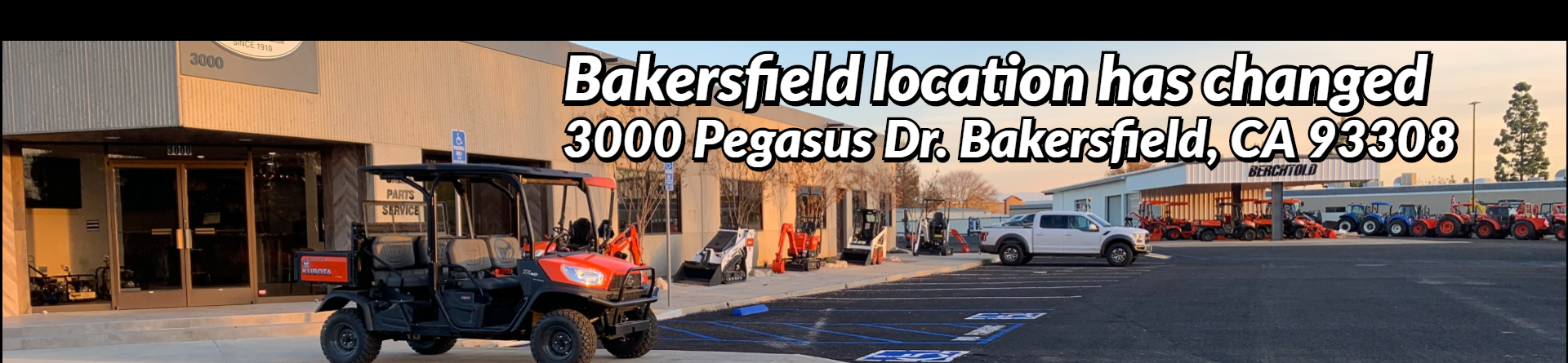 New Bakersfield Address.